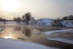 Flod Zai Arkivfoto