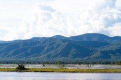 flod zambezi Royaltyfria Foton
