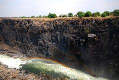 flod zambezi Fotografering för Bildbyråer