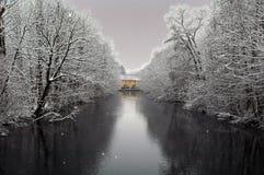 flod zurich Fotografering för Bildbyråer