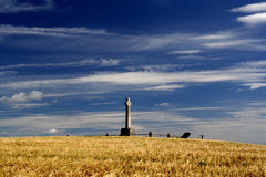 Flodden battlefield Royalty Free Stock Photo