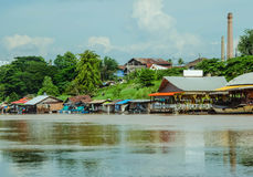 Floden är liv Royaltyfri Fotografi