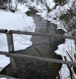 Floden av tid royaltyfri bild