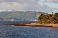 Floden Clyde Arkivfoto