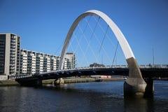 Floden Clyde, Glasgow, Skottland, UK Arkivbilder