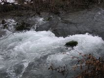 Floden Grza i Serbien Royaltyfri Foto