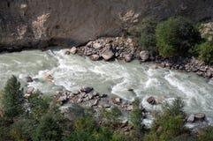Floden i bergen Royaltyfri Foto