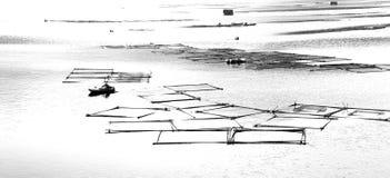 floden skissar Royaltyfri Fotografi
