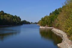 Floden Teteriv Fotografering för Bildbyråer