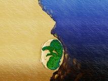 Floder av amazonia arkivfoton