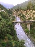 Floder i Santiagochile Royaltyfri Fotografi