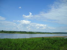 Floderna av den ryska norden Nordliga Dvina ²ÐΜра för  ÐΜÐ för ¾ Ñ för ³ Ð för ¾ Ð för  кРför  Ñ för Ð ÐΜки Ñ€ÑƒÑ Ð FÖR Royaltyfri Fotografi
