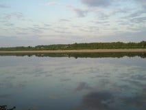 Floderna av den ryska norden Nordliga Dvina ²ÐΜра för  ÐΜÐ för ¾ Ñ för ³ Ð för ¾ Ð för  кРför  Ñ för Ð ÐΜки Ñ€ÑƒÑ Ð FÖR Royaltyfri Foto