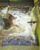 Flodflöden Royaltyfri Fotografi