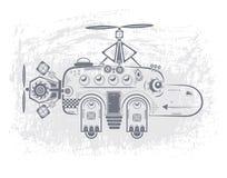 Flodhästhelikopter Arkivbild
