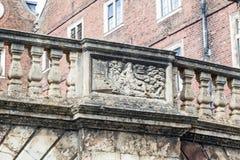 Flodkambro Cambridge England Arkivfoton