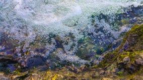 Flodkantbakgrund Royaltyfria Bilder