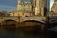 Flodkorsning Royaltyfri Fotografi