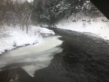 Flodkrökning Royaltyfri Foto