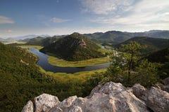 Flodkurvor Fotografering för Bildbyråer