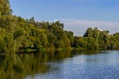 Flodlandskap Royaltyfria Foton