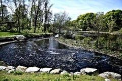 Flodplats Arkivfoto