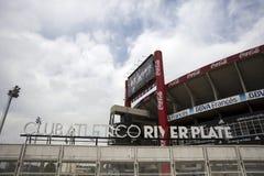Flodplattastadion i Buenos Aires, Argentina royaltyfri fotografi