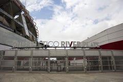 Flodplattastadion i Buenos Aires, Argentina royaltyfri bild