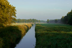Flodröjningen Royaltyfri Bild