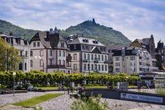 FlodRhen, Bonn, Tyskland arkivbild