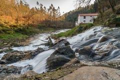 Flodström i Portugal Royaltyfria Bilder