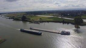 Flodtransport Fotografering för Bildbyråer