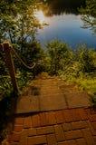 flodtrappa till fotografering för bildbyråer