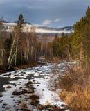 flodtuluk Arkivfoto