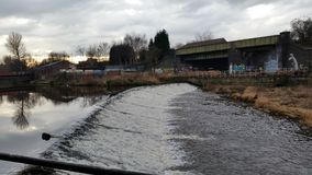 Floduniversitetslärare arkivfoto