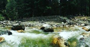 Flodvatten arkivfoton