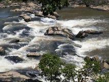 Flodvattenfall Royaltyfri Bild
