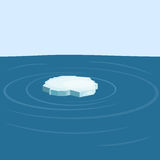 Floe in the sea. Stock Photography