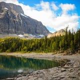Floe See im Nationalpark-Britisch-Columbia Kootenay stockfotos