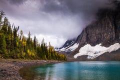 Floe See in Nationalpark Kootenay, Britisch-Columbia lizenzfreies stockbild