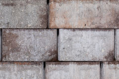 Floe up of nice coloured bricks Royalty Free Stock Images