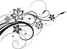 Floers, tendril, abstrakt Zdjęcie Stock