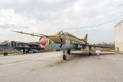 Flogger H Jet Fighter di BN di MIG 23 Immagini Stock Libere da Diritti