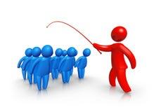 Flogging do empregado Imagens de Stock