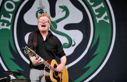 Flogging Molly Stock Photo