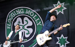 Flogging Molly Royalty Free Stock Photo