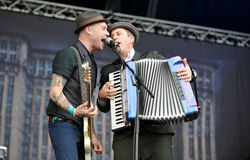 Flogging Molly Stock Image
