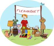 Flohmarkt Lizenzfreie Stockfotografie