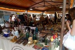 Flohmarkt Stockfoto