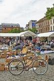 Flohmarkt an De Balle Place du Jeu Stockfotografie